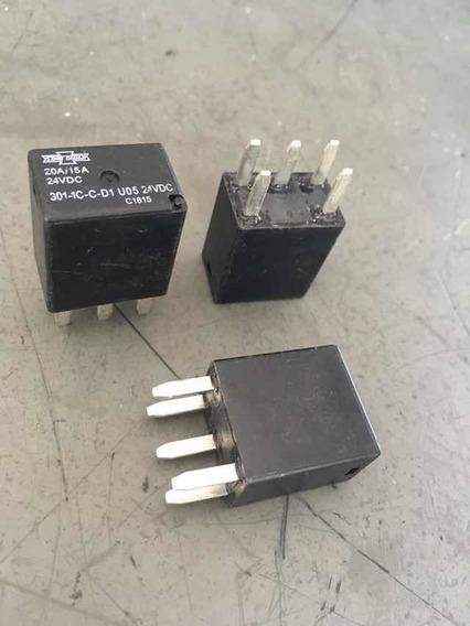 3 Relé Auxiliar Mini Reversor 24v 5t 3011ccd1 Dni8212