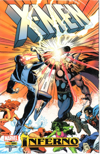 X-men Inferno 03 - Panini 3 - Bonellihq Cx69 G19
