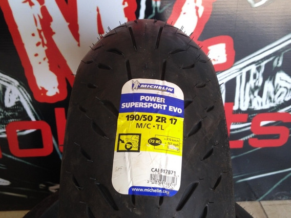 Pneu Michelin Power Super Sport Evo 190/50-17