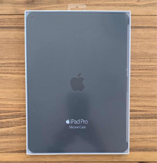 Case Capa iPad Pro Original Apple Silicone Preto Lacrado Nov