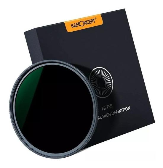 Filtro K&f Nd1000 18 Camadas De Alta Resolução (40.5mm)