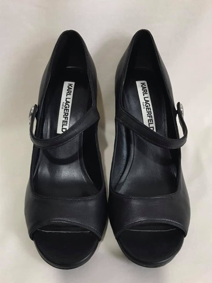 Zapatos Karl Lagerfeld # 23.5 Mx 100% Original