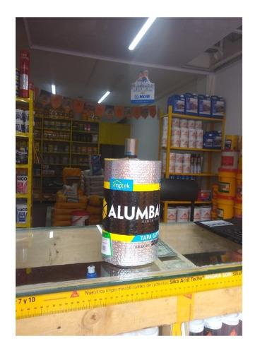 Cinta Tapagotera 20cm*10m Aluminio Teja Eternit Y Flanches