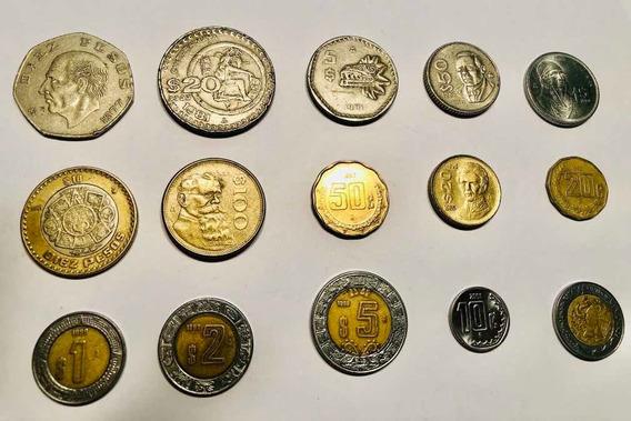 Monedas Mexicanas Muy Buen Estado Colección