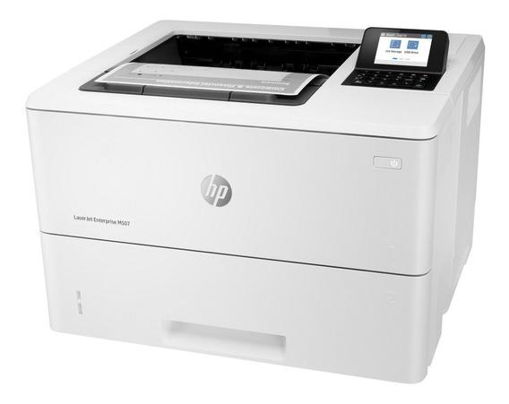 Impresora HP LaserJet Enterprise M507DN 200V - 240V blanca