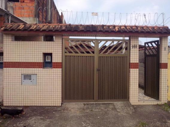 Casa 1 Dormitório - Vila Margarida - São Vicente/sp - Ca0217