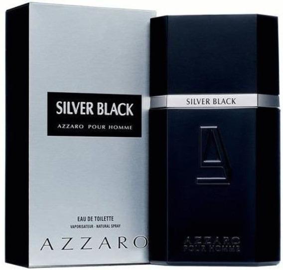 Azzaro Silver Black 100ml 100% Original Lacrado E Com Nf-e