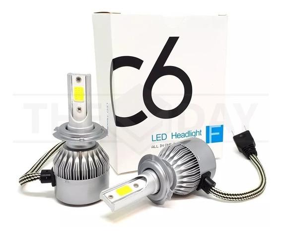Par Lampada Led Automotiva C6h7