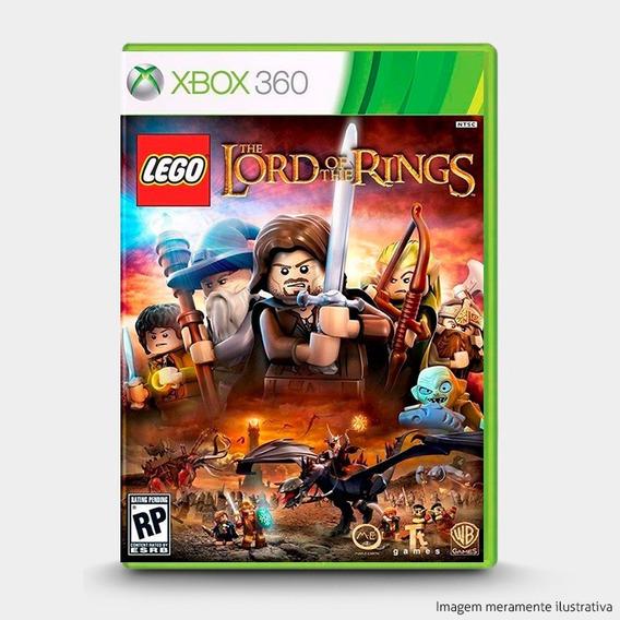 Lego Senhor Dos Aneis - Novo Original Para Xbox 360