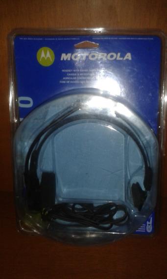 Motorola Audífono Con Micrófono Para Radio Walkie Talkie