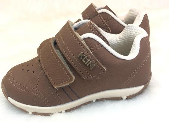 Sapatenis Velcro Menino Infantil Klin - 16475