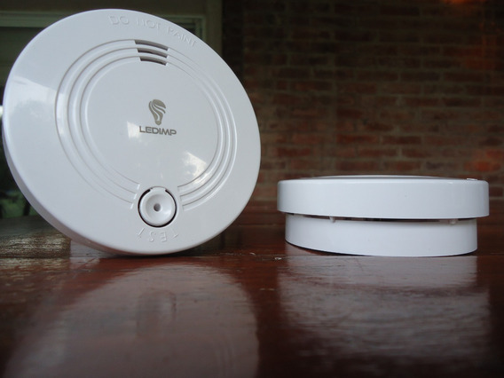 Pack X 3 Alarma Detector Humo Autónomo 9v Premium Pilar