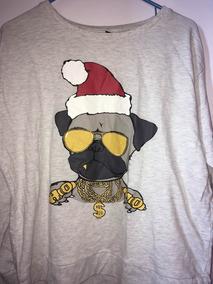 Suéter De Pug Con Gorro De Navidad H&m