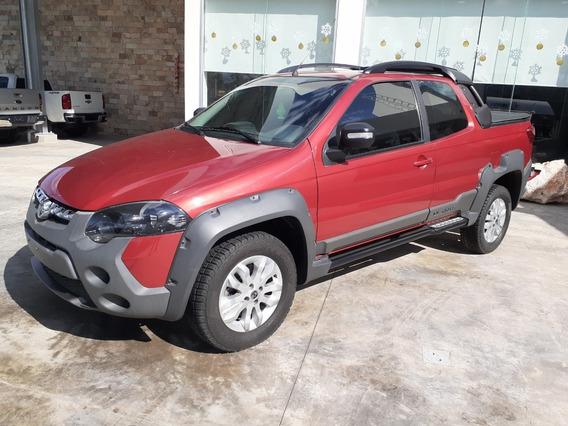 Ram 700 1.6 Club Cab Adventure Mt 2017 Rojo Opulencia