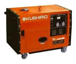 Generador Kushiro 6000 Watts Cabinado