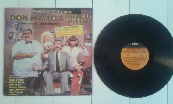 Disco Don Mateos Nueva Ola Revival Sofovich La Peluqueria