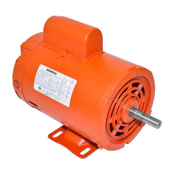 Motor Eléctrico Siemens Monofásico 1rf20000da604aa1 2hp