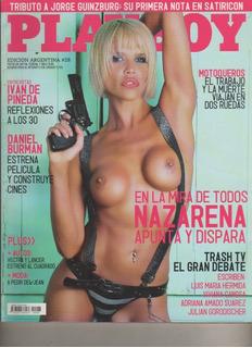 Revista Playboy - Nazarena Velez - Nº 28 - Año 2008