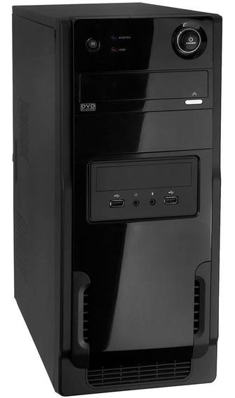 Pc Montado Novo! Core 2 Duo 4gb Ssd 240gb Windows 7