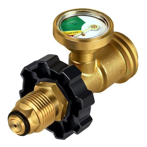Manómetro / Medidor / Adaptador Para Tanque Gas Lp