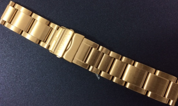 Pulseira Original De Aço Gold Nixon 42-20 Nova!