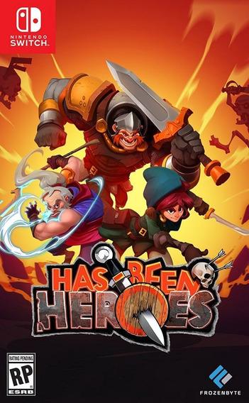Has Been Heroes Switch Mídia Física Lacrado