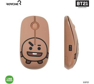 Bt21 Figure Wireless Silent Mouse Royche (marrón (shooky))