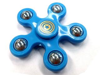 Hand Spinner Con 5 Puntas Cuerpo Azul Infantil E8052