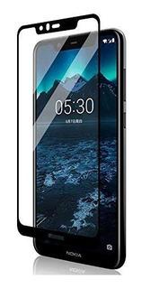 Vidrio Templado Curvo 5d Nokia 5.1 Plus Full Adhesivo