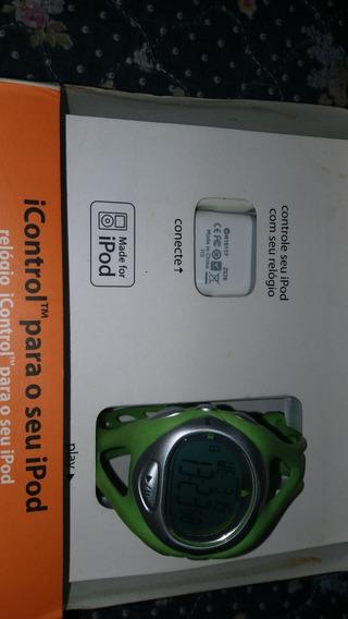 Relogio Timex Icontrol, Controle Seu iPod Sem Fio