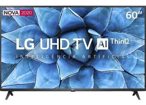 Imagem 1 de 2 de Smart Tv 60'' Led 4k Uhd LG 60un7310p Bivolt Alexa