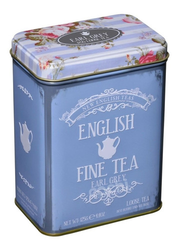 Te New English Teas Lata 125gr Earl Grey Suelto