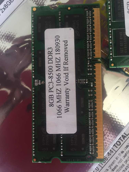 32gb Ram 4x8gb 1066mhz Ddr3 iMac Mac Macbook Pro