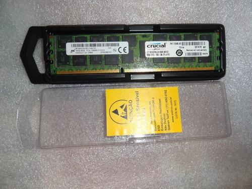 Memória Micron 16gb Pc3l-12800r Ddr3-1600 Reg.