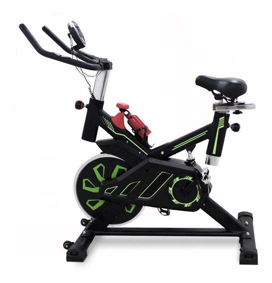 Bicicleta Spinning Fija Uso Rudo 18 Kilos Banda Profesional