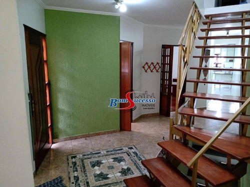 Imagem 1 de 24 de Sobrado Com 4 Dormitórios À Venda, 250 M² Por R$ 1.200.000 - Vila Invernada - São Paulo/sp - So1622