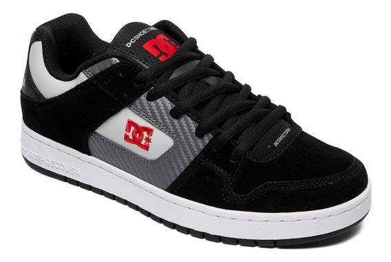 Tenis Para Hombre Dc Shoes Manteca Xksr Negro Gris