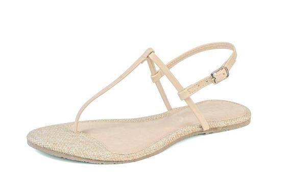Sandália Rasteira Flat Feminina Mercedita Shoes