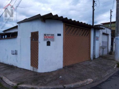 Casa Com 2 Dormitórios À Venda, 150 M² Por R$ 280.000,00 - Jardim Casa Branca - Suzano/sp - Ca0053