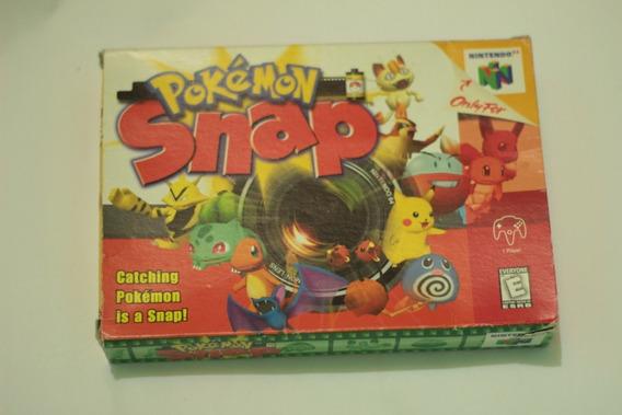 Pokemon Snap Original Com Caixa Nintendo 64 Frete Gratis