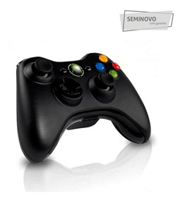 Controle P/ Xbox 360 Original Microsoft - Seminovo