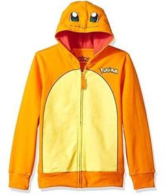 Moletom Infantil Pokemon Charmander Menino Blusa De Frio