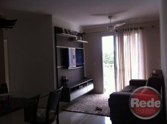 Apartamento Com 3 Dormitórios À Venda, 72 M² Por R$ 330.000 - Monte Castelo - São José Dos Campos/sp - Ap3672