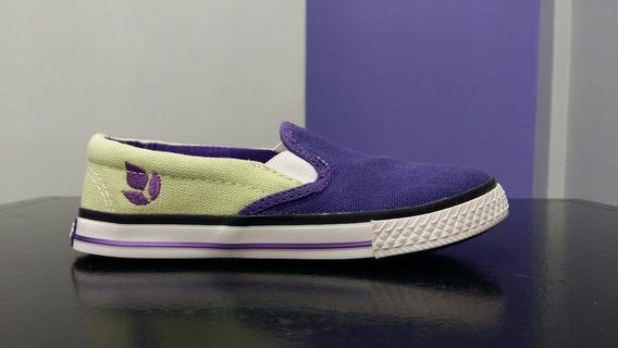 Panchas De Niña Lima/violeta Del 22 Al 35