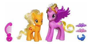 My Little Pony Princess Cadance Y Applejack Figures