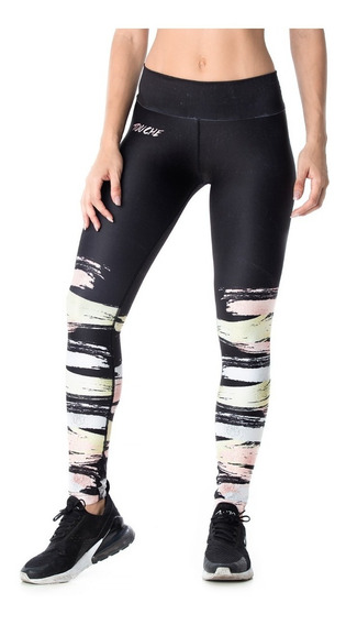 Calzas Deportivas Mujer Touche Sport Lycra Mujer Gym Ls 347