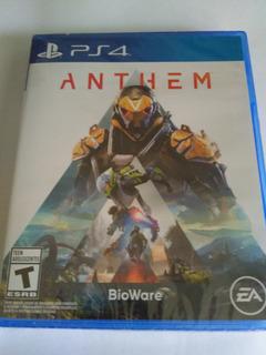 Anthem Ps4 Nuevo Fisico Sellado Envio Gratis