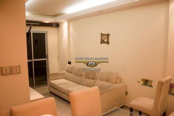 Apartamento Com 3 Dormitórios À Venda, 61 M² Por R$ 275.000,00 - Vila Ema - São Paulo/sp - Ap2214