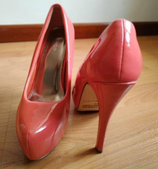 Zapatos Patentes Coral Marca Aishop