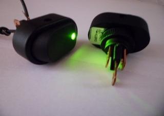 Botao Interruptor Tic Tac Chave Gangorra Led Carro 12v 1und